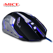 USB Gaming Mouse With Macro Custom Setting For Playing E-sports Game ,4000DPI 6D Metal Mice With DIY hot-Keys ,Breathing Light