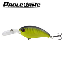 1pcs 13.5g 10cm Crankbait Bass Spinner Fishing Lures 7 Colors Hard bait Top water Wobblers Pesca excellent Japan fishing tackle