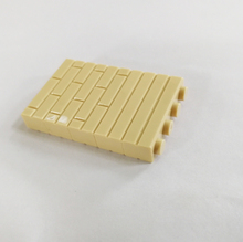 50Pcs 1×4  Wall Brick Toys MOC Architecture Accessory Brick DIY Building Block Assemble Particles Brickset  4 Color X026