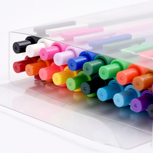 Image 3 - 20 개/몫 KACO 순수 시리즈 ABS 매트 젤 펜 패션 캔디 컬러 서명 젤 펜 학생 편지지 Office 학교 용품에 대 한