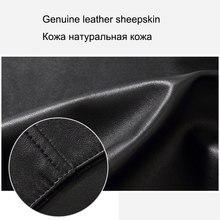 Black Men Genuine Sheepskin Brand Dusen Klein