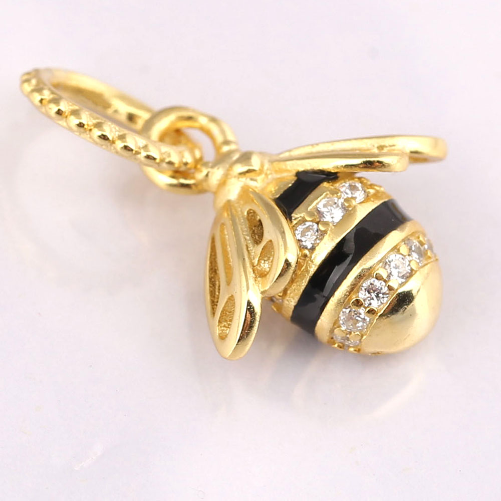 925 Sterling Silver Queen Bee reflextions Shine Clip Charm Bead 2019 nouveau