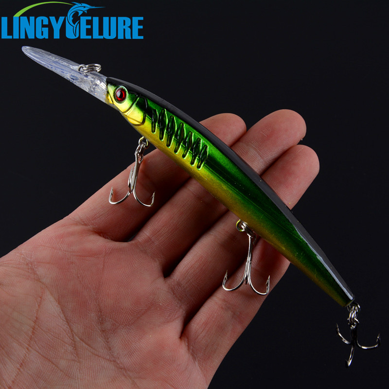 1PCS Fishing Lure Set New Long Tongue Isca Artificial Wobbler Pesca Fishing Bait fishing tackle Wholesale Minnow 14.5CM/12.2G sealurer big tongue minnow fishing lure float wobbler 16cm 27 5g sea fly pesca hard bait crankbait tackle 1pcs lot