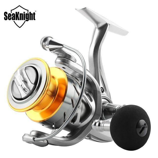 SeaKnight moulinet de pêche rapide en mer en eau salée système de traînée en Fiber de carbone 6.2: 1 4.7: 1 moulinet de pêche Anti-corrosion 11BB traînée Max 15 kg