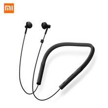 オリジナル Xiaomi の Bluetooth イヤ襟青年版スポーツワイヤレス Bluetooth ヘッドセットとマイクイヤホンインナーイヤーヘッドホン