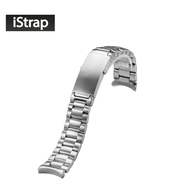 20mm Solid Stainless Steel Silver watch band for Omega Seamaster Planet Ocean Steel 20MM Bracelet 1589