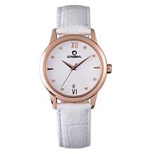 Relogio feminino women watches red leather strap  Crystal quartz  Fashion Casual  ladies waterproof wrist watch CASIMA #2607