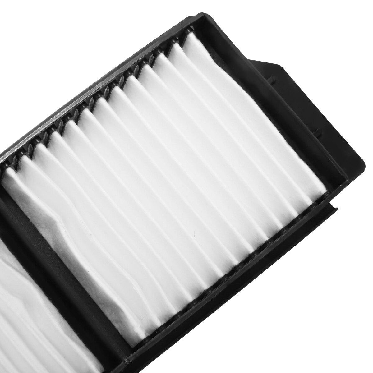 Automobiles Filters Set 2pcs White Cabin Air Filter For Mazda 3 Mazda 5 OEM:BP4K-61-J6X