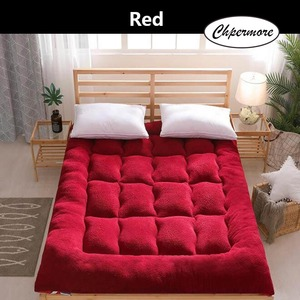 Image 3 - Chpermore Thicken Lamb cashmere Mattress Single double Student Mattresses Foldable Tatami Cotton Cover King Queen Size