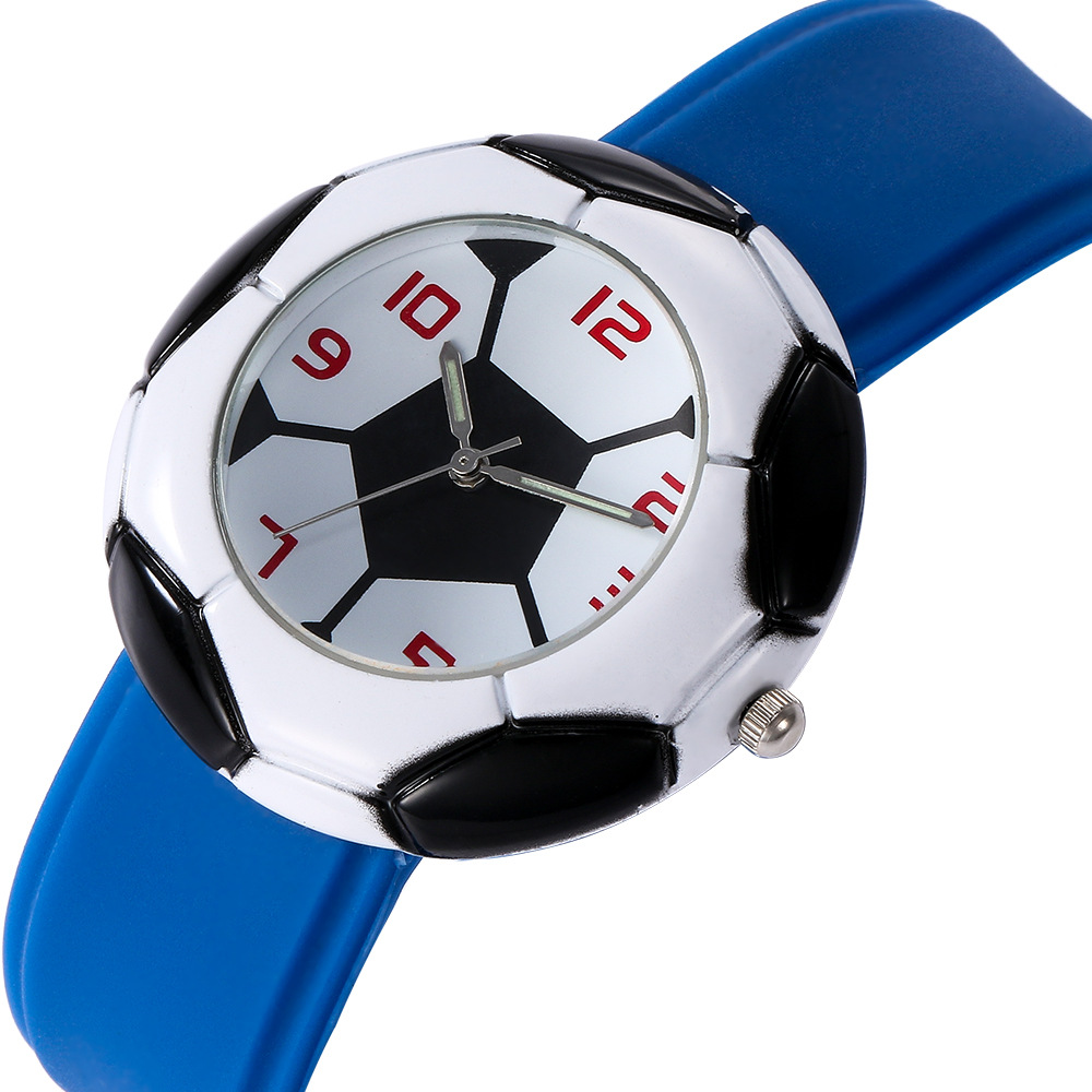 Watches Waterproof Kids Watches Silicone Wristwatches Football Brand Quartz Wrist Watch Baby For Girls Boys Fashion Casual Reloj Y489 Attractive Fashion