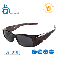 Free Shipping fit over glasses polarized sun glasses for men and women glasses cover sunglasses UV400 wear over myoia sunglasses