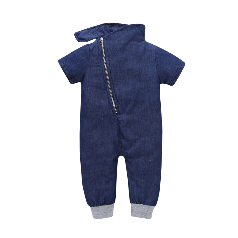 2018 free ship Cotton Baby Rompers bebes boys Newborn Baby Clothes Spring Baby Boy Clothing Roupa Infant Jumpsuits Cute baby rompers cotton long sleeve 0 24m baby clothing for newborn baby captain clothes boys clothes ropa bebes jumpsuit custume