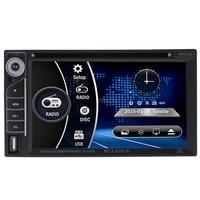 2 din Car dvd Player MP5/MP4 USB/SD Handsfree Bluetooth FM/AM Radio Car Audio For BMW/Mazda/Opel/VW/Honda/Skoda/Golf