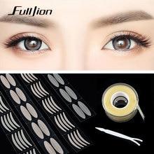 Fulljion 600Pcs Eyelid Tape Sticker Invisible Clear Beige Double Eyelid Paste Instant Eye Lift Big Eyes Decoration Eyelid Stripe