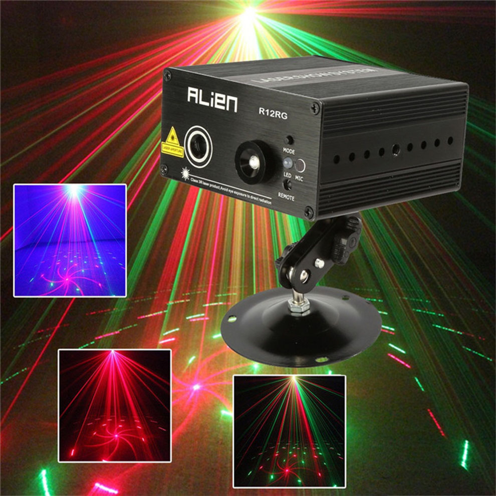 Alien Mini Home Party Laser Lights Rg 2 Style Dj Disco