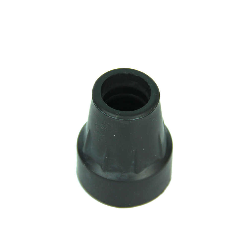 1PC Rubber Walking Hiking Stick End Cover Tips 19mm Cane Crutch Pad Rubber Heavy Duty Metal Ferrule End Bottom