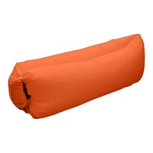 Inflatable Air Sofa Over 200Kg 201T Oxford Sleeping Bag Outdoor sofa orange Lazy Bag Air Bed Couch Chair Inflatable Lounge