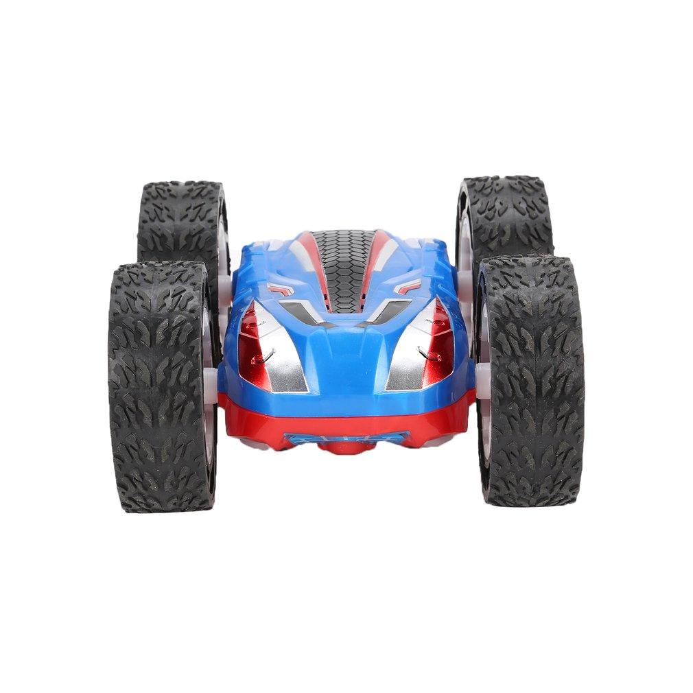 Double face Flip RC cascadeur voiture saut Bug cascadeur haute vitesse véhicules tout-terrain course SUV voiture enfants jouet - 5