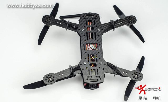 Hobbysa H250 A Carbon Fiber FPV Race RC Quadcopter Frame Kit with ...