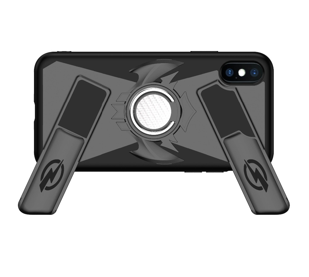 For iPhone X Gamepad Case Magnetic Car Mount Holder Ring Cover For iPhone 7 Plus 7 8 8 Plus 6 6S Plus Game Controller Shockproof