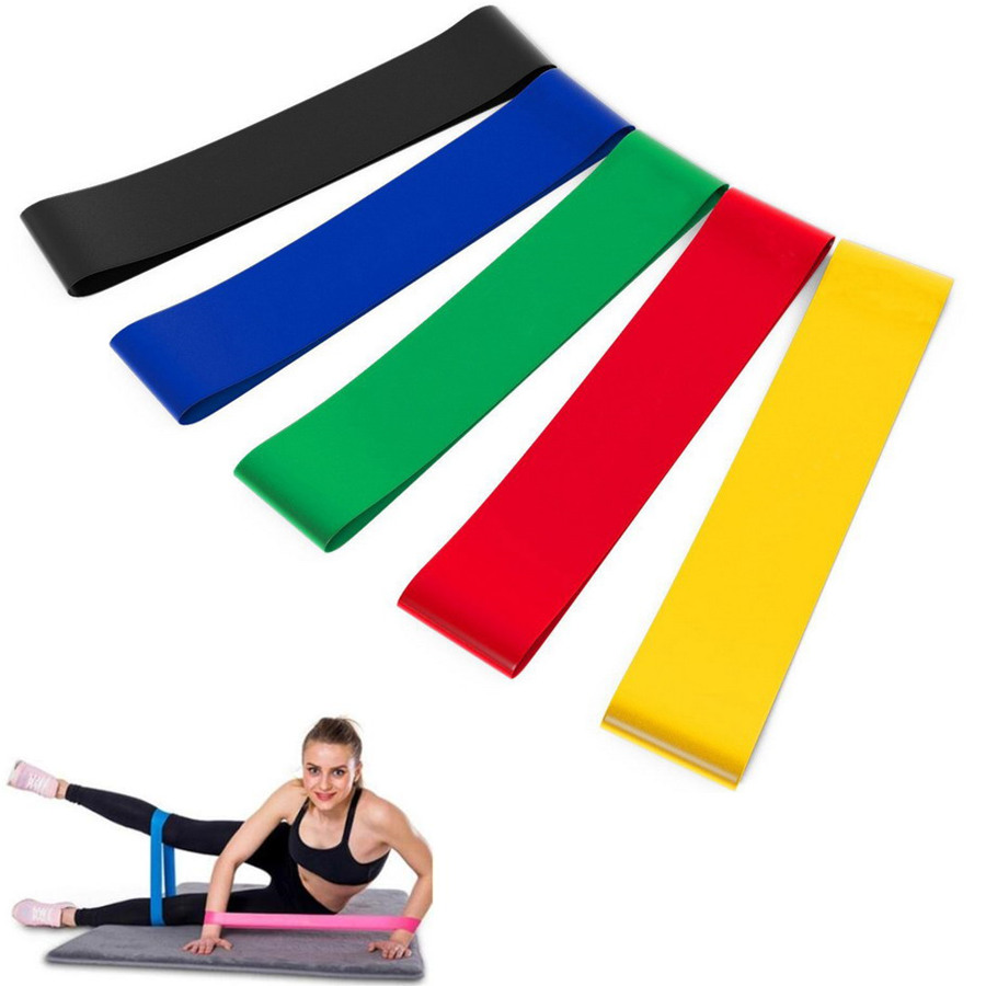 Resistance Bands Fitness Gum Workout Rubber Loop Latex Yoga Gym Strength Training Band Athletic Fitness Equipment Bands Expander