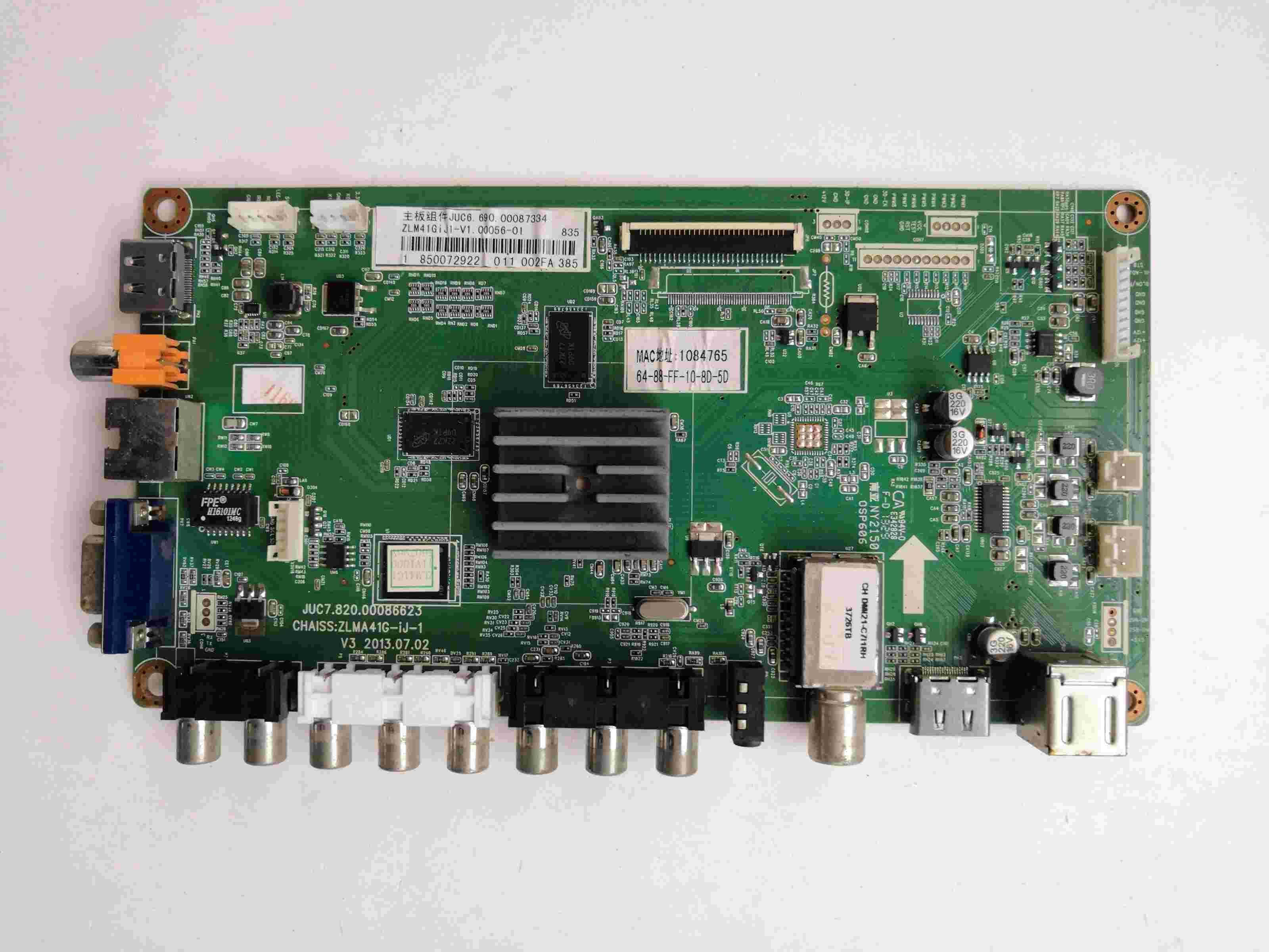Frugal Main Board Power Board Circuit Logic Board Constant Current Board Led 32c2000 Motherboard Juc7.820.00086623 Screen C320x13-e2-a At Any Cost Consumer Electronics Accessories & Parts