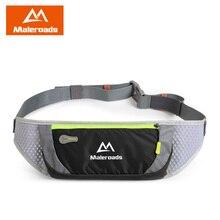 Maleroads водостойкие беговые поясные сумки Utility Gym Fanny Pack Спорт Фитнес Пояс для бега сумки сотовый телефон карман для мужчин женщин