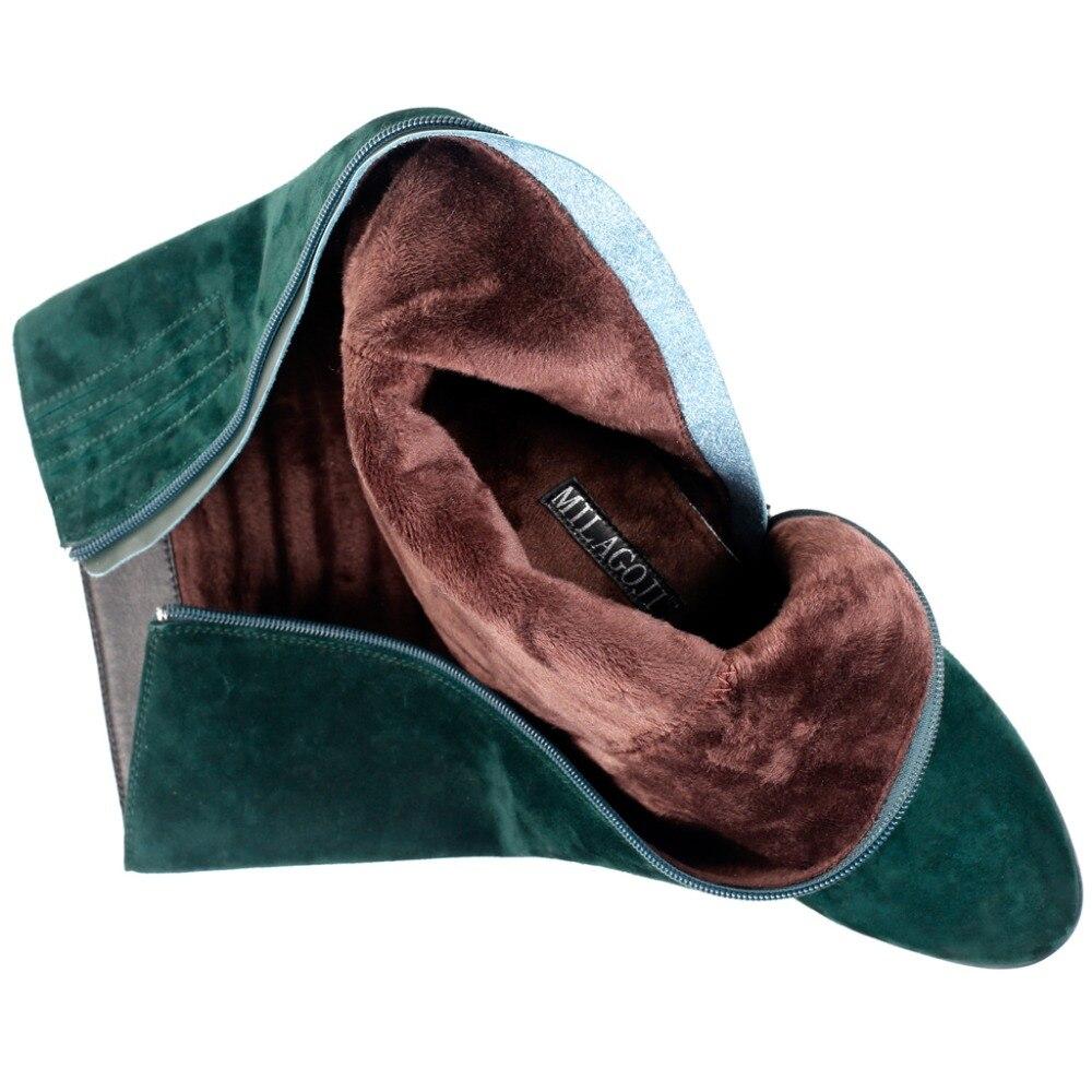Laine Peluche Marque Motif Chaussures Pour Femmes Fleur Milagoji D'hiver Véritable Qualité Et Bottes Jl02039 Haute En Chaud Neige Cuir qYwwS8A