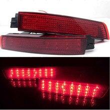 Rear Bumper Reflector Light for Nissan Juke Murano Sentra Quest Infiniti FX35 FX37 FX50 Red Lens LED Tail Brake Lamp 2009-2015 цена в Москве и Питере