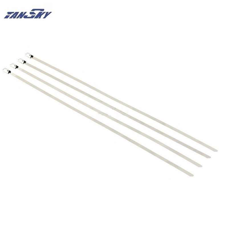 be4feeeea80a ... 100x Stainless Steel Cable Ties 4.6mm x 300mm For Exhaust/Radiators For  Jeep YJ