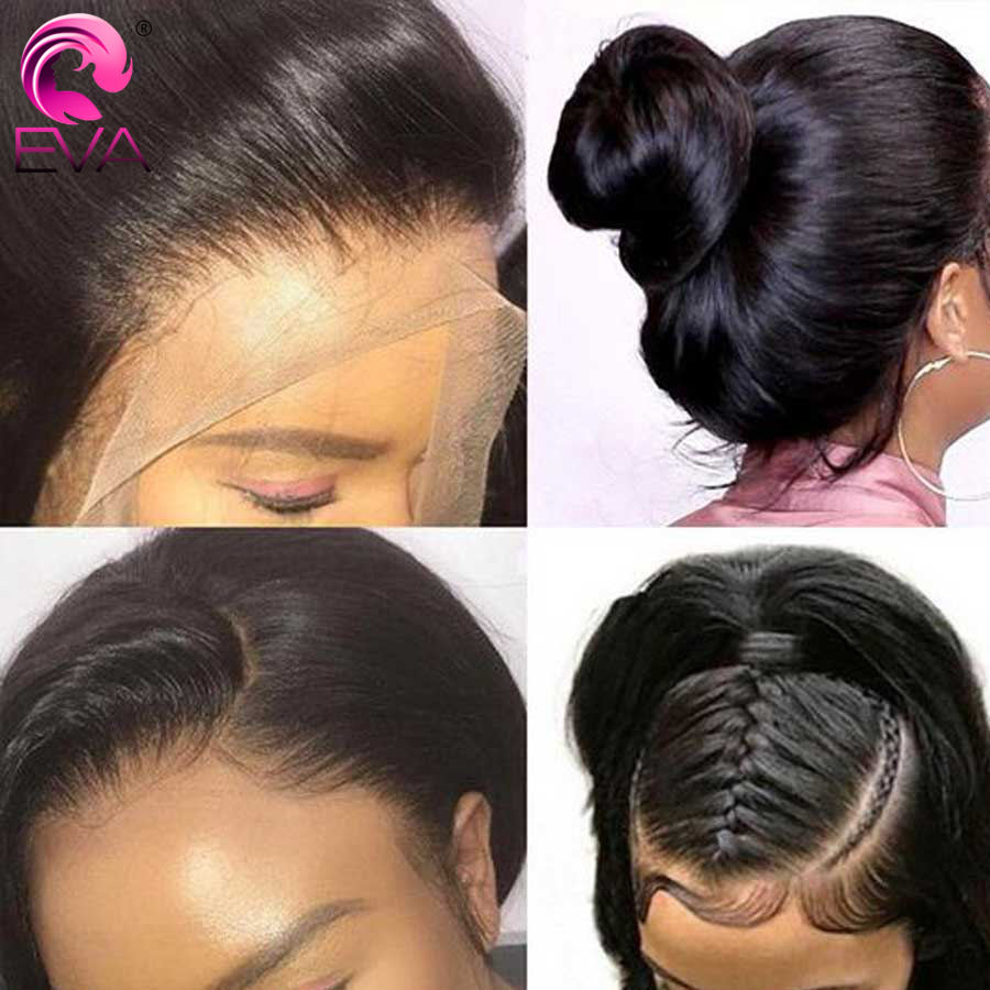 360 Lace Frontal Wig Pre Plucked With Baby Hair Brazilian Body Wave Lace Front Human Hair