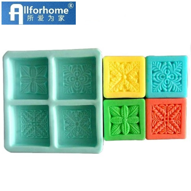 Allforhome 6 Cavities Snowflake Silicone Cake Baking Molds Cake Pans Muffin Cups Handmade Soap Molds Biscuit Chocolate Ice Cube Tray DIY Mold Moulds moule /à Savon