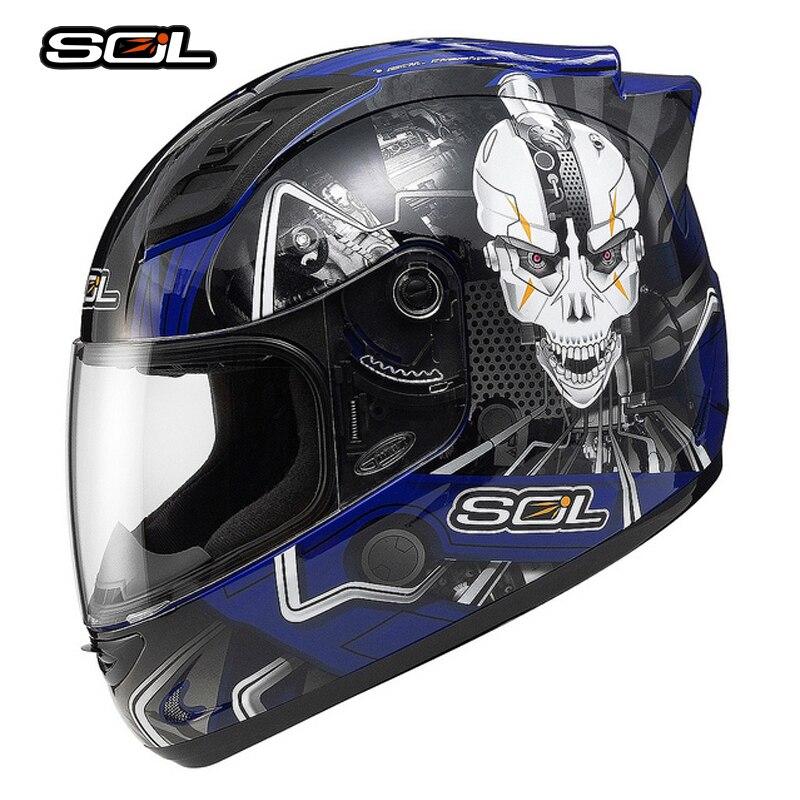 Casque de Moto résistant au SOL casque de Motocross 68 S casque de Moto Casco homme en fer DOT matériel ABS haut de gamme approuvé