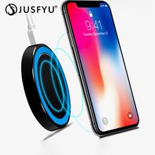10W Qi Wireless Charger for iPhone X XS Max XR 7 8 Plus Fast Wireless Charging Pad for Samsung S9 Xiaomi Desktop Charging Stand все цены