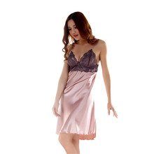 Ladies Silk Braces Dress