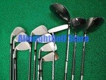 11 pcs câu lạc bộ Golf Hoàn Thành thiết lập AeroBur Golf Thiết Lập Người Đàn Ông Lái Xe + Fairway + Sắt + Putter Graphite/ thép Shaft với Caddy Túi