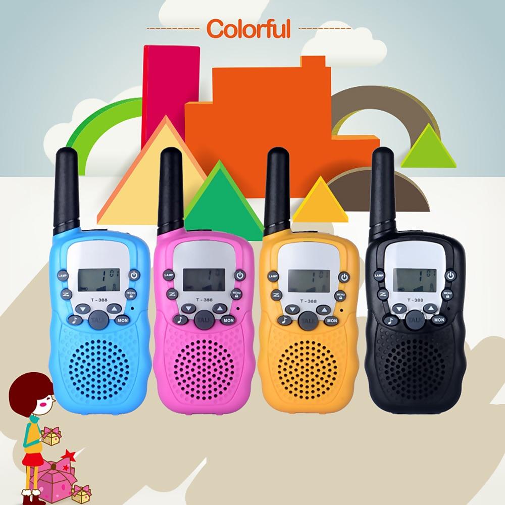 T388 Children Radio Toy Walkie Talkie Kids Radio Roger Beep Pair Battery Gift