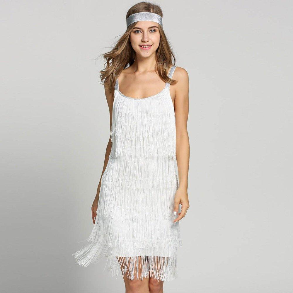 Vintage Vestido 1920s Flapper Girl Fancy Dress Great ...