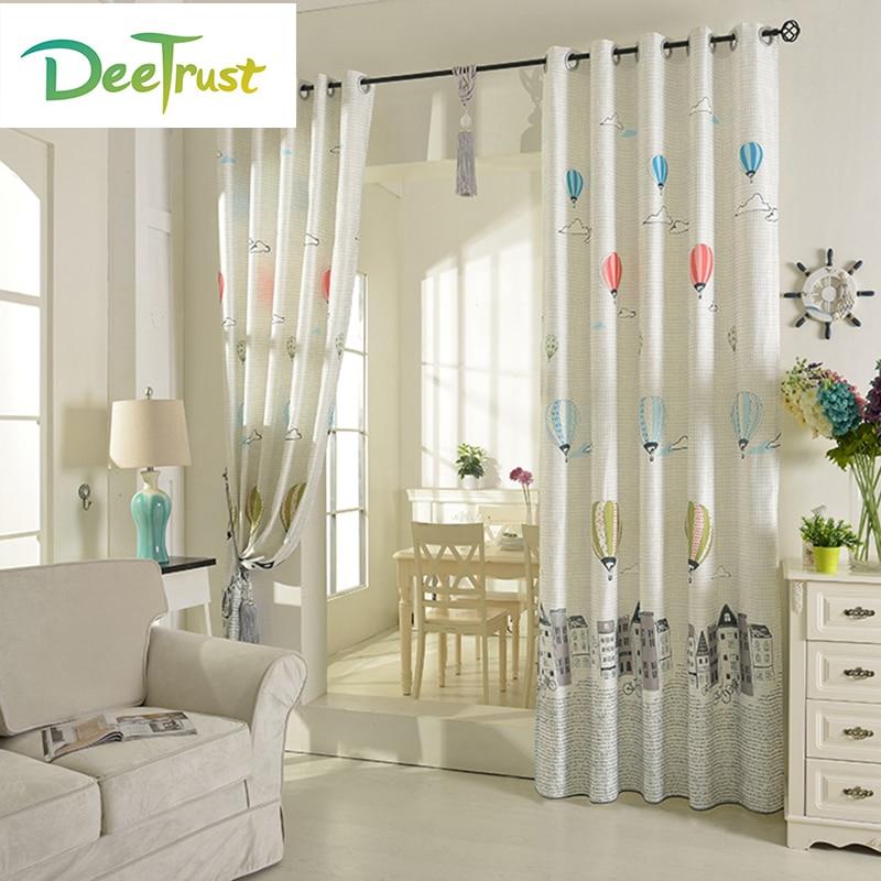 globo de la historieta nios ventana apagn cortinas para livining sala cocina cortinas cortinas de voile decoraci