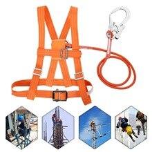 3 стиля открытый регулируемый подъем ремни безопасности спасательный канат воздушная Работа большая пряжка