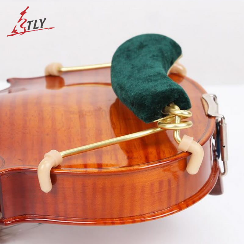 TONGLING Spring Violin Shoulder Rest Support Holder Super Softness Colourful Flannelette Beginner Violin Fiddle Parts