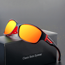 ASUOP 2019 new fashion mens polarized sunglasses retro classic brand design ladies glasses UV400 square driving color goggles