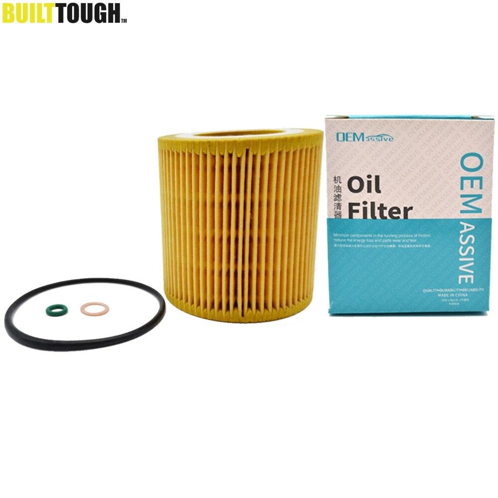Engine Oil Filter Housing Gasket for BMW 1 Series M 128i 135i 320i 325i 328i 328xi 330i 330xi 335i 335xi 428i 435i 525i 528i 530i 535i 640i 740Li ActiveHybrid X1 X3 X5 X6 Z4 Premium 11427537293 New
