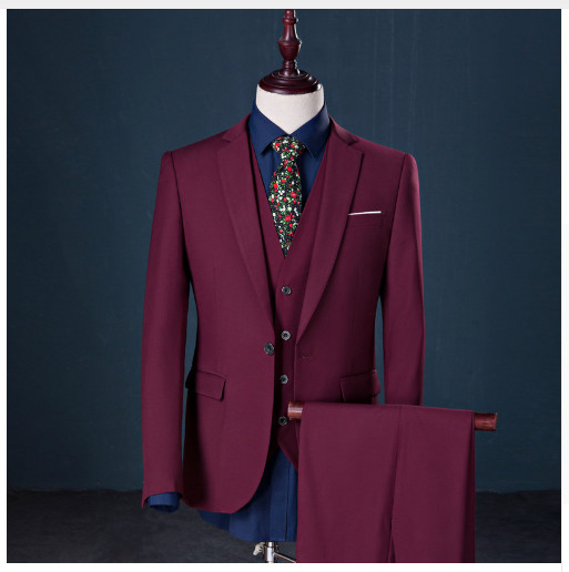 8078f7516142 (Jacket+Vest+Pants)Men Slim Fit Suits Plus Size M 5XL Mens White Wedding  Suits With Pants Business Mens Formal Wear MGXF1-in Suits from Men's  Clothing on ...