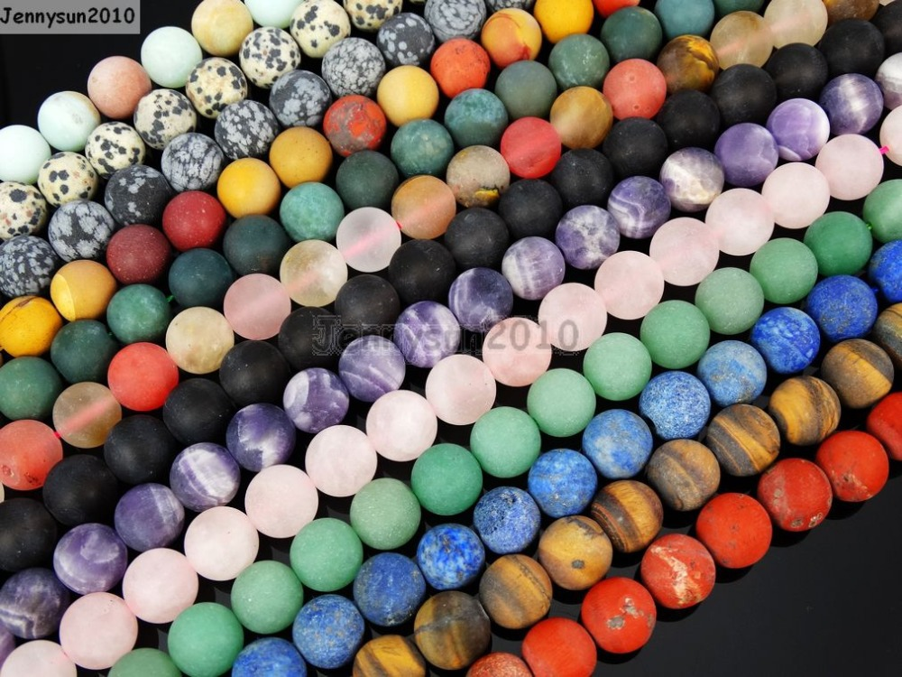 Natural Matte Multi-colored Hematite 4mm Frosted Gems Stones Round Ball Loose Spacer Beads 15 5 Strands/ Pack Harmonious Colors Beads & Jewelry Making Back To Search Resultsjewelry & Accessories