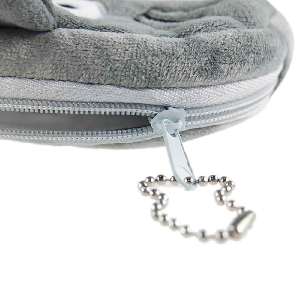 Piękny miękki pluszowy TOTORO piórnik piórnik kosmetyczny torebka torba na zamek błyskawiczny portmonetka papiernicze