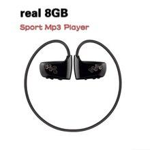 Alta calidad Más Nueva W262 8 GB walkman deportivo cabeza con reproducción de música MP3 del auricular inalámbrico para el ciclismo senderismo al aire libre nave