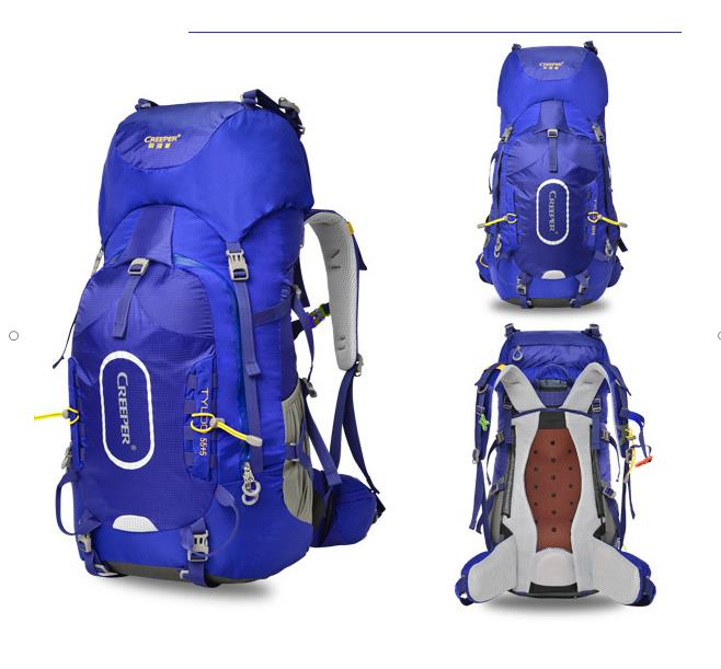 2017 New  60L  Mountaineering   Backpack Men And Women Ultra-light Travel  Multi-function Nylon  Waterproof Outdoor BAG A4353