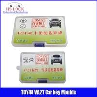 TOY48& VA2T car key moulds for key moulding Car Key Profile Modeling locksmith tools