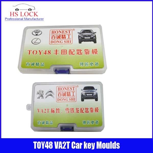 ФОТО TOY48& VA2T car key moulds for key moulding Car Key Profile Modeling locksmith tools